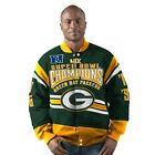 Green Bay Packers Gladiator 4 Time Super Bowl Champions Cotton Twill Jacket