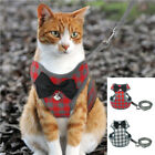 Cat Harness and Leash for Walking Escape Proof Cat Vest Harness Jacket for Pets