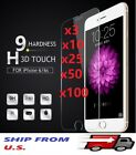 lot Tempered Glass Screen Protector for iPhone 6/6P 7/7P 8/8P X ,XS,XS MAX ,XR