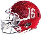 NEW NCAA Full Size Helmet Made with Swarovski® Crystals - ANY TEAM! OBO