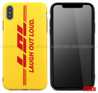 DHL LOL LAUGH OUT LOUD Creative Protective Soft Phone Case For Apple iPhone