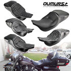 2 Up Rider Passenger Seat Saddle For Harley Touring Electra Glide 1997 2007 New