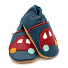 Children's Red Car Transport Baby Shoes. New. Gift.