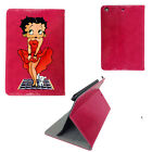 Betty Boop Shiny Glossy Leather Case Birthday Cover Apple iPad mini 1 2 3 £10.0 GBP on eBay