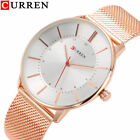 CURREN Luxury Men Casual Watch Ultra Thin Dial Quartz Waterproof Wrist Watches image