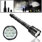 90000LM LED Light Flashlight Tactical 16x T6 LED 5Modes 18650 Torch Lamp Light