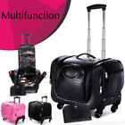 Multi Function Make Up Trolley Rolling Cosmetic Storage Case Beauty Travel Caddy