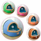 Dog Cat Winter Warm Bed House Pet Puppy Cushion Soft Kennel Nest Cave with Mat