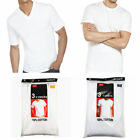 New 6 Pack For Men's 100% Cotton Tagless T-Shirt Undershirt Tee White S-XL image