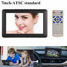 "12"" 16:9 Portable Car Television 1080P Digital TV ATSC HDMI TFT-LED Video Player"