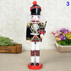 30cm Wooden Soldier Doll Figurines Walnut Puppet Model Christmas Decor Xmas Gift