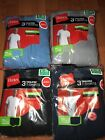 Hanes Mens Pocket T-Shirt 6 Pack Tagless All Colors All Sizes 100% Cotton !! image