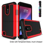 For iPhone 6 7 8 X Plus Samsung Galaxy J7 S7 Hybrid Armor Case Hard Phone Cover