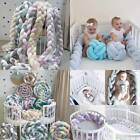 Внешний вид - Baby Infant Plush Crib Bed Bumper Bedding Cot Braid Pillow Pad Safety Protector