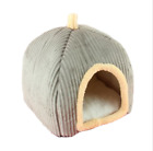 Cat Small Dog Soft Bed Met House Tent  Removable Covered Bed S,M,L