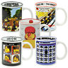 Lego Parody Mugs. Beatles Bowie Humour Funny Music Gift for Him Her