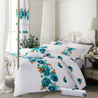 Bedding Set with Duvet Cover Pillow Cases Free Fitted Sheet Include Double King