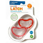 2 Pack Munchkin Latch Lightweight Orthodontic Silicone BPA Free Pacifier, 6M+
