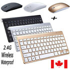 mini wireless keyboard and mouse set waterproof 2 4g for mac apple pc computer