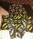 Batman crib toddler bed fitted sheet top sheet blanket curtain Pillow FREE NAME