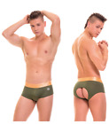 Pali Sexy Mens Lingerie Open Rear Back Hole Gay Underwear Brief Boxer Short