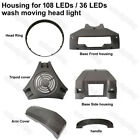 36x10w 108x3w LED Wash Moving Head Light Cover Housing Case Replacement Parts DJ