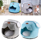 Pet Supplies Space Cap Dog Kennel Cat House Enclosed Pet Nest Bed with Cushion