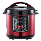 New 6 Qt 9-in-1 Programmable Pressure Cooker Multi-Cooker Rice Cooker Insta Pot