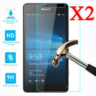 2X Tempered Glass Screen Protector Film For Microsoft Nokia Lumia 640 650 950 XL