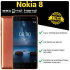 Nokia 8 -64/128GB - Android - (UNLOCKED/SIMFREE) - Smartphone - 1 Year Warranty <br/> 12 MONTHS WARRANTY - FAST SHIPPING - AMAZING PRICE!