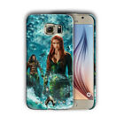 Aquaman Mera Samsung Galaxy S4 5 6 7 8 9 10 E Edge Note 3 - 9 Plus Case 04