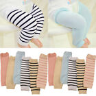 Baby Child Kid Solid Color Stripe Long Leggings Socks Tights Arm Leg Warmers