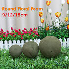 Внешний вид - 9/12/15cm Round Floral Foam Flowers Florist Wedding Bouquet Ideal Holder Craft