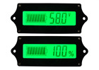 New Digital Battery Capacity Monitor DC 9-90V Lithium Tester Voltage Meter