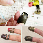 Внешний вид - Retro Thimble Ring Sewing Quilting Metal Ring Finger Protector Tool Accessories