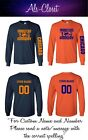 "Chicago Bears ""Monsters of the Midway"" Football Long Sleeve Shirt Custom Name $25.59 USD on eBay"
