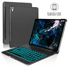 For iPad Pro 11 360 Rotating Wake/Be in the arms of Morpheus 7 Color Backlit Bluetooth Keyboard Cover