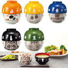 STAR WARS Rice Soup Bowl Set Small Lunch Dinner Japanese Style Kids Boys Kawaii $22.5 USD on eBay