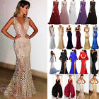 Women Wedding Cocktail Formal Bridesmaid Evening Party Maxi Dress Prom Long Gown