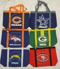 NFL Little Earth Duffle Style Team Tailgate canvas Tote Bag Bag 15 x 6 x 13.5 $12.99 USD on eBay