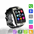 Q18 Touch Screen Smart Watch Wrist Bluetooth SIM Card Camera For Android New US
