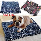 Large Soft Warm Dog Cat Pet Mat Bed Pad Self Heating Rug Thermal Pillow S M L XL
