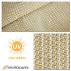 Beige Fabric Roll Sun Shade cloth  Outdoor Garden Canopy Patio Fence 6FT