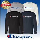 Original Champion Men's Classic Jersey Script Long Sleeve T-Shirt