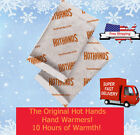 LOT Hot Hands Hand Warmers 4 6 8 10 20 40 Pairs Safe Natural Heat Free Ship