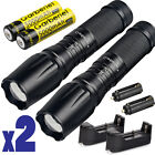 FLASHLIGHT ShadowHawk LED Flash light X800 Bright Zoom Military Grade Torch USA