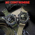 SMAEL Men Shock Resistant Sport Waterproof Electronic Army Quartz Wrist Watch US image