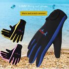 1.5mm Cold-proof Winter Swim Swimming Scubas Snorkeling Diving Gloves Surfing US