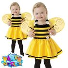 Kids Ladybird Bumblebee Costume Girls Fancy Dress Bugs Insects Book Week Outfit
