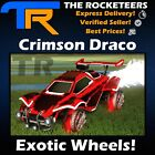 [XBOX ONE] Rocket League Every Painted Draco Exotic Wheels (Crimson,White,SB...)